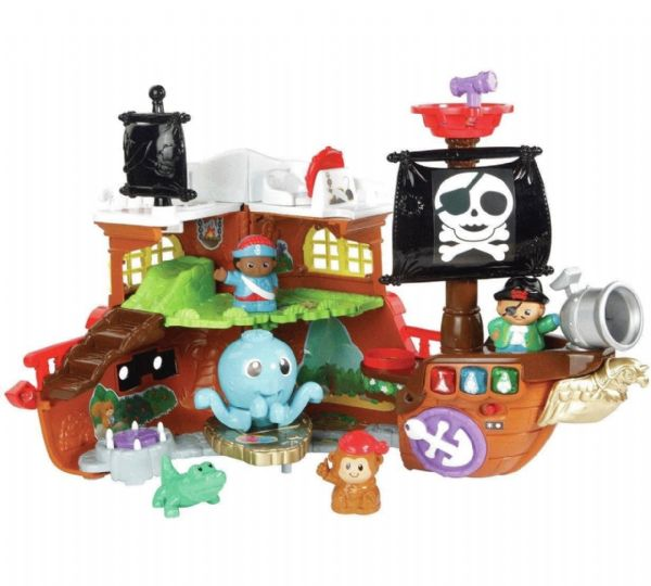 Vtech Toot-Toot Friends Kingdom Pirate Ship Ages 1-5